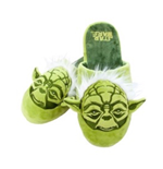 Star Wars Slippers Yoda (large - Uk Size 8-10)