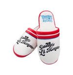 Harley Quinn Slippers DADDY'S Little Monster (ladies Medium - Uk Size 2-4)