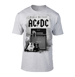 AC/DC T-Shirt In Rock We Trust (GREY)