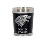Game Of Thrones Shot Glass ( Stainless Steel & Resin ) Winter Is Coming Shot Glass