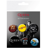 Queen: Button Badges Mix Badge Pack
