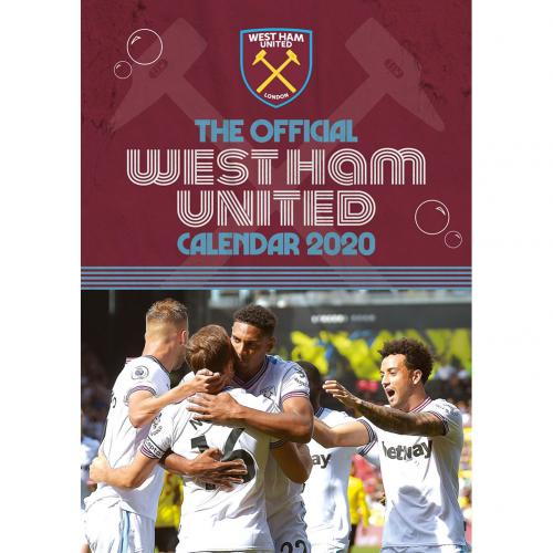 West Ham United F.C. Calendar 2020