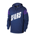2019-2020 Tottenham Nike Hooded Top (Navy)