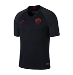 2019-2020 AS Roma Nike Training Shirt (Black)