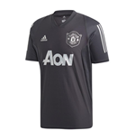 2019-2020 Man Utd Adidas EU Training Shirt (Carbon)