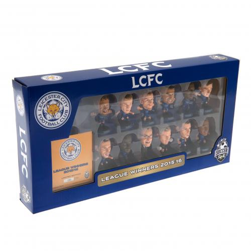 Leicester City F.C. SoccerStarz Premier League Winners Team Pack