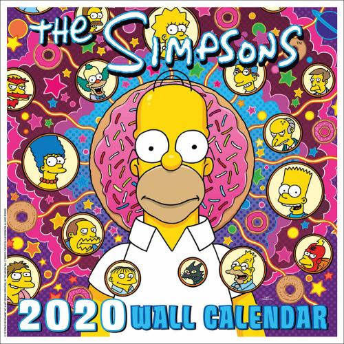 The Simpsons Calendar 2020