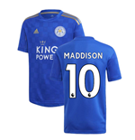 2019-2020 Leicester City Home Football Shirt (Kids) (MADDISON 10)