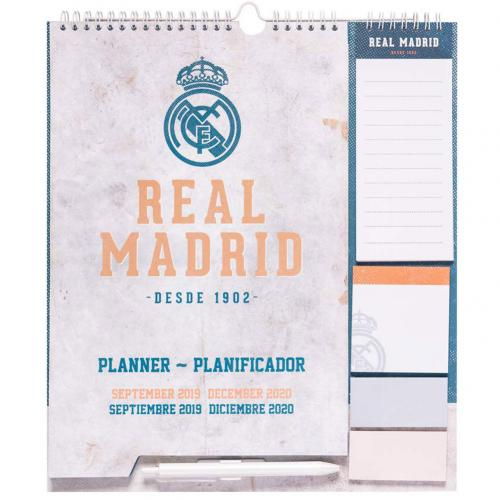 Real Madrid F.C. Year Planner 2020
