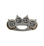 Five Finger Death Punch Badge Knuckle Duster (pin BADGE)
