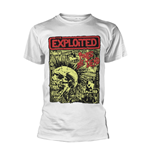 The Exploited T-Shirt Punks Not Dead (WHITE)