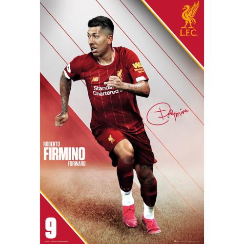 Liverpool FC Poster Firmino 7