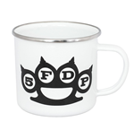 Five Finger Death Punch Enamel Mug White Logo