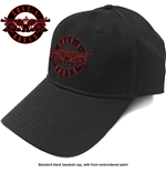 Guns N' Roses: Red Circle Logo Black Cap