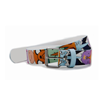 ADVENTURE TIME Characters All-over Print Belt, Unisex, Large, Multi-colour