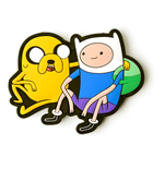 ADVENTURE TIME Jake & Finn Belt Buckle, Unisex, Multi-colour