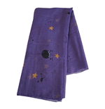 ADVENTURE TIME Lumpy Space Princess Fashion Scarf, Unisex, Purple