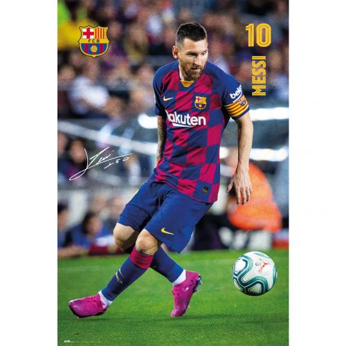 FC Barcelona Poster Messi 1