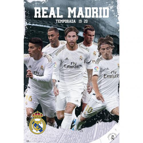Real Madrid FC Poster Players 25