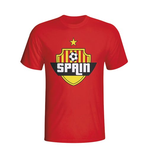 Spain Country Logo T-shirt (red)