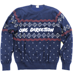 One Direction Unisex Sweatshirt: Christmas Jumper