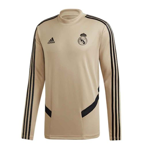 2019-2020 Real Madrid Adidas Training Top (Gold)