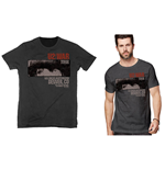 U2 Unisex Tee: War Red Rocks