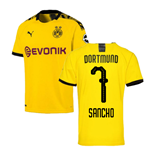 2019-2020 Borussia Dortmund Puma Home Football Shirt (SANCHO 7)