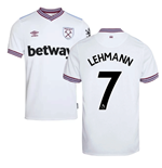 2019-20 West Ham Away Shirt (Lehmann 7)