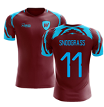 2019-2020 West Ham Home Concept Football Shirt (SNODGRASS 11)