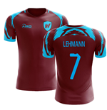 2019-2020 West Ham Home Concept Football Shirt (Lehmann 7)