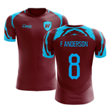 2019-2020 West Ham Home Concept Football Shirt (F ANDERSON 8)