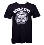 Sons Of Anarchy Mayans Men's Black T-Shirt