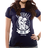 Looney Tunes: Football Or Me Women's T-shirt