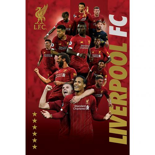 Liverpool FC Poster Players 38