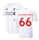 2019-2020 Liverpool Away Football Shirt (Kids) (Alexander Arnold 66)