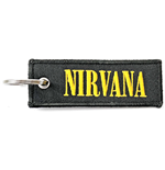 Nirvana Keychain: Logo (Double Sided Patch)