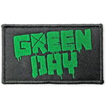 Green Day Standard Patch: Logo