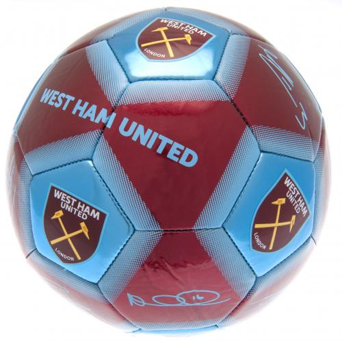West Ham United FC Football Signature