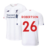 2019-2020 Liverpool Away Football Shirt (Kids) (Robertson 26)