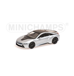 BMW I8 COUPE SILVER 2015