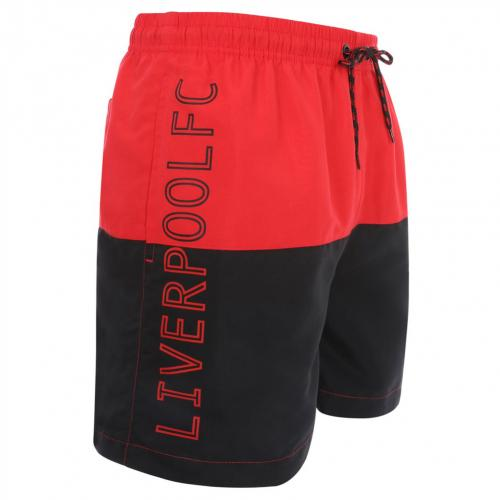 Liverpool FC Block Swim Shorts Mens XL