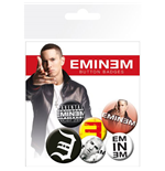 Eminem Button Badge Pack: Recovery