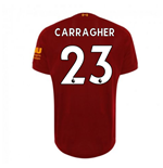 2019-2020 Liverpool Home Football Shirt (CARRAGHER 23)