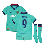 2019-2020 Barcelona Third Nike Little Boys Mini Kit (CRUYFF 9)