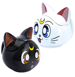 Sailor Moon Luna  and  Artemis 3D Sculpted Collectors Mug Set