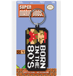 Supermario Born In The 80S Keyring Keychain