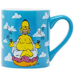 The Simpsons Homer Buddha 14 Ounce Ceramic Mug