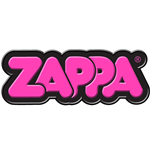 Frank Zappa Fridge Magnet: Pink 3D Bubble Logo