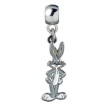 Looney Tunes Silver Plated Charm Bugs Bunny